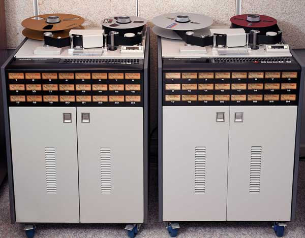 Ampex MM1200 two-inch-tape machines